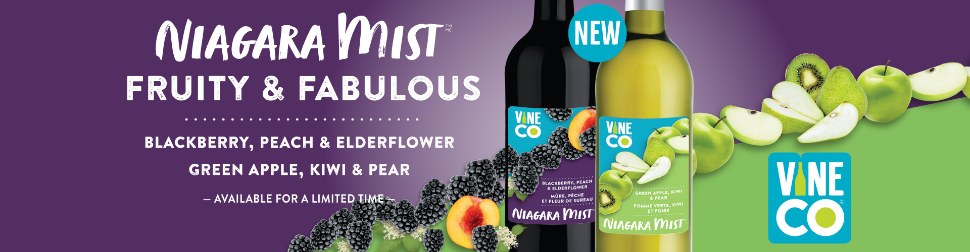 Niagara Mist New Release - Fruity & Fabulous